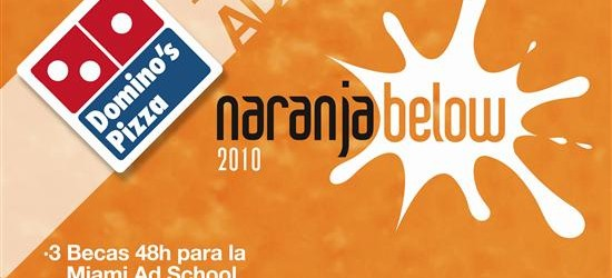 Cartel Naranja Below 2010